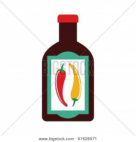 Foodstuff design over white background vector illustration