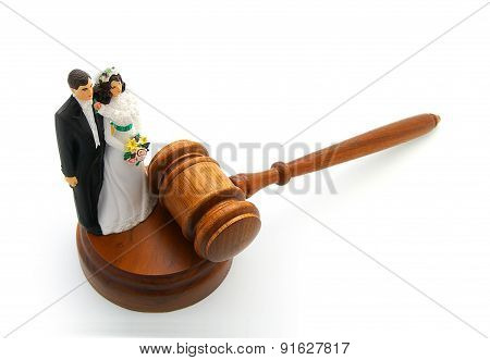 Couple And Gavel