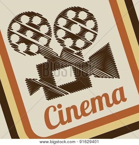 Cinema design vector illustration