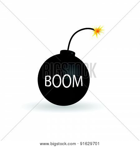 Bomb Color Vector