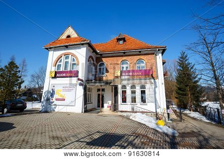 Villa Made Of Brick In Zakopane