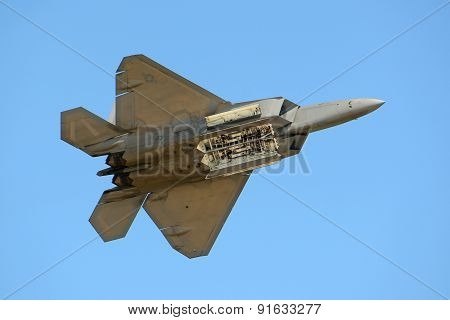 F-22 Raptor at Great New England Air Show