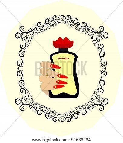 Perfume bottle original design