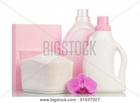 Pink washing powder