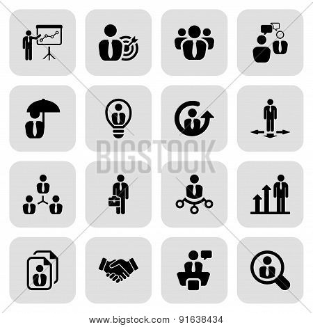 Flat Business Iconset