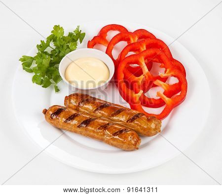 Sausages A Grill