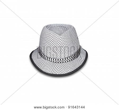 Hat Isolated On White Background.