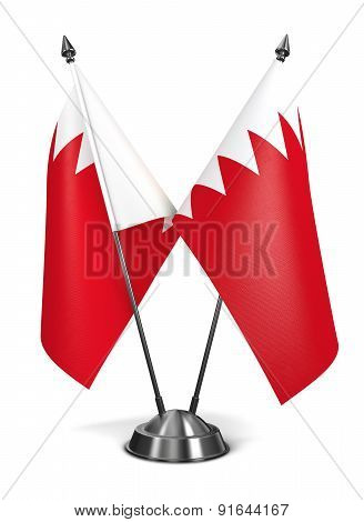 Bahrain - Miniature Flags.