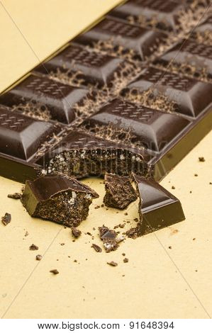 Ingredients For Preparation Of Artisanal Chocolate Bar