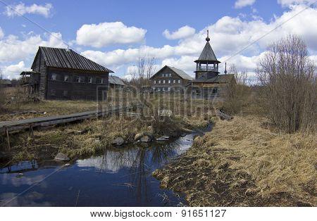 ancient village, Russia