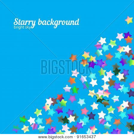 Holographic Stars Background