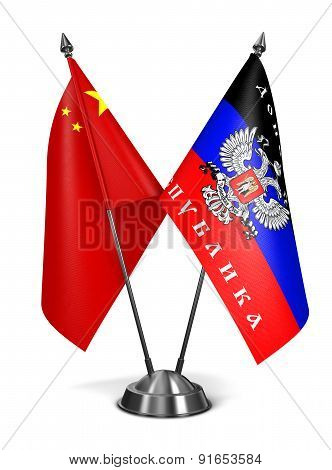 China and DNR - Miniature Flags.
