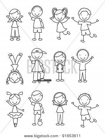 Kids design over white background vector illustration