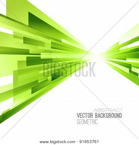 Abstract color lines poster.