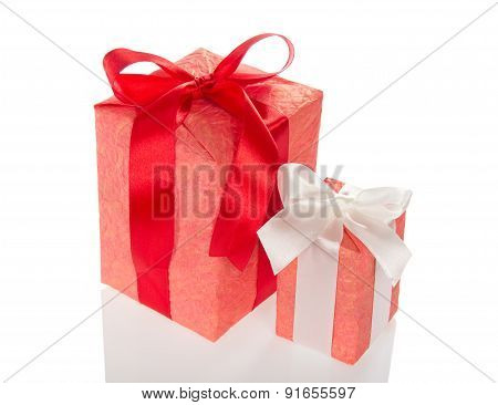 Big and small gift boxes