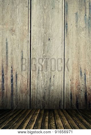 blank grunge room interior,may use as background