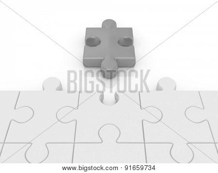 puzzle. 3d
