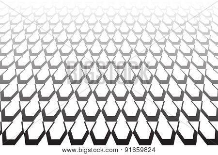 Textured  surface. Abstract geometric background. Vector art.