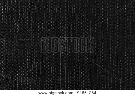 Black Woven Plastic Cloth Texture