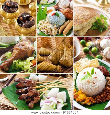 Collage photo delicious ramadan food, all photos belongs to me.