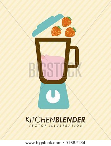 Appliances design over yellow background vector illustration