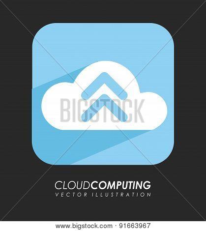 Download design over black background vector illustration