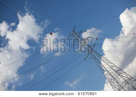 Farther Diagonal Powerline