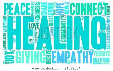 Healing Word Cloud