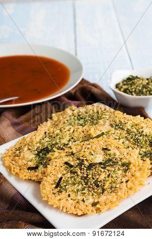 Parmesan Furikake Crisps
