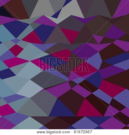 Deep Magenta Abstract Low Polygon Background