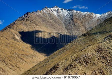 Landscape Of Ladakh, Changla Pass, Jammu And Kashmir, India