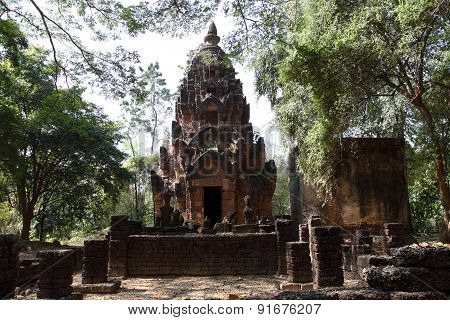 wat Phra Si Ratana Mahaphat, Si Satchanalai, Thailand