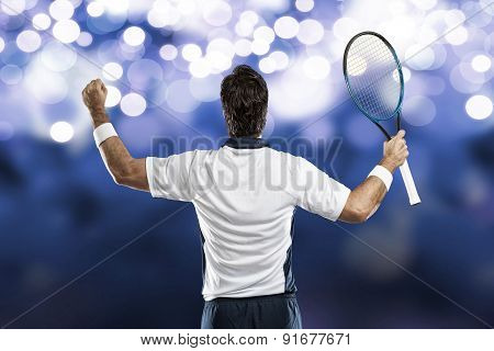 Tennis Player.