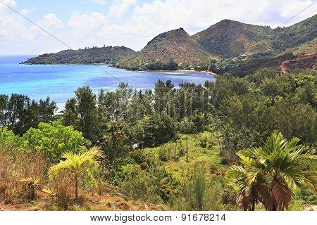 Bay beach Anse Possession