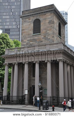 The Kings Chapel in Boston