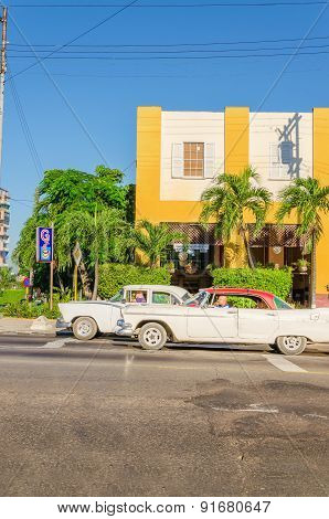 lassic American cars in Havana, Cuba