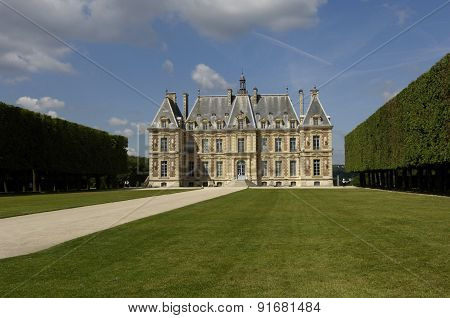 France, The Castle Of Sceaux In Les Hauts De Seine