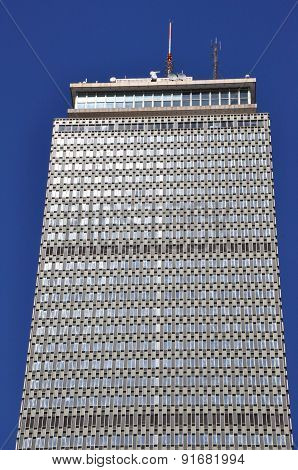 Prudential Tower in Boston, Massachusetts