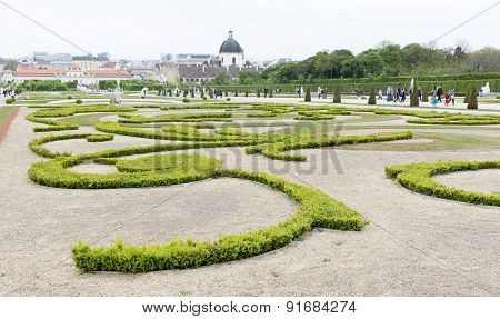 Belvedere Palace And Museum Vienna