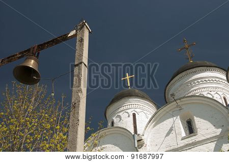 The Archangel Michael Church In Mikulino Village, Fragment
