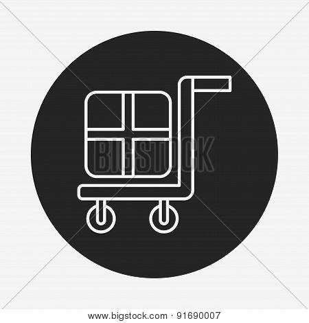 Barrow Line Icon