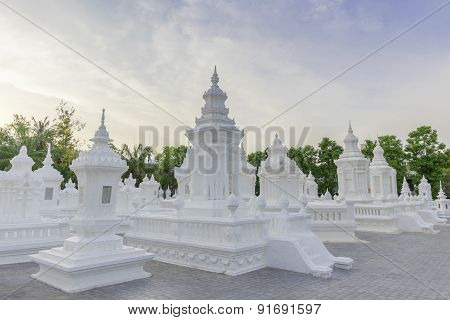 Wat Suan Dok.Chiang Mai in Thailand. It is an ancient pagoda.
