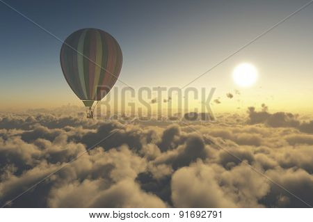 Explore With Hot Air Balloon