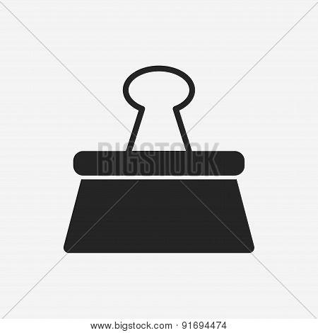Binder Clip Icon