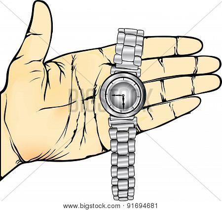 Hand Wristwatch xxxl