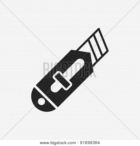 Utility Knife Icon