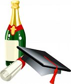 picture of convocation  - graduation celebration related items - JPG