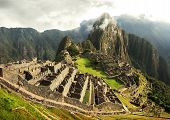 picture of andes  - The lost Incan city in peruvian Andes - JPG