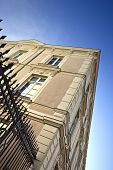 image of wrought iron  - Wrought iron gate of a French building - JPG
