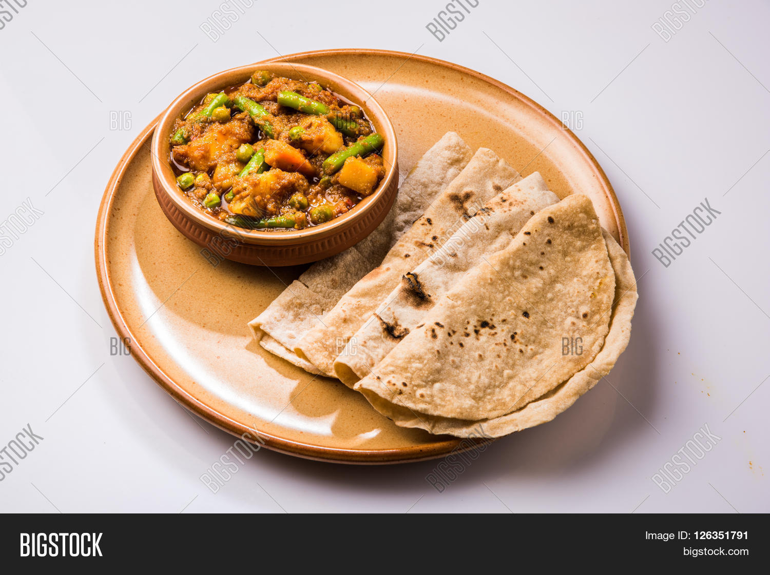 Indian Recipe Mixed Veg Containing Image Amp Photo Bigstock